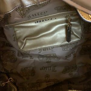 Juicy Couture Bags - Never used Gold Juicy Couture duffel bag